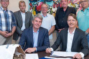 Streekhout Achterhoek en ForFarmers tekenen intentieverklaring