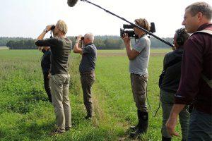 Patrijzenwerkgroep Montferland in programma 'Vroege Vogels'.