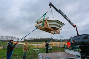 Sprekend  Gelderland schrijft een artikel over de door de VAL geplaatste zwaluwtil