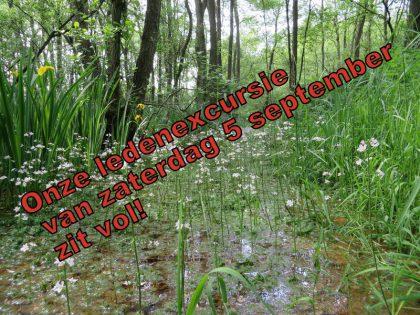 Ledenexcursie van 5 september naar De Zumpte in Doetinchem is volgeboekt!